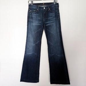 | 7FAM | Dojo Jeans in Dark Wash